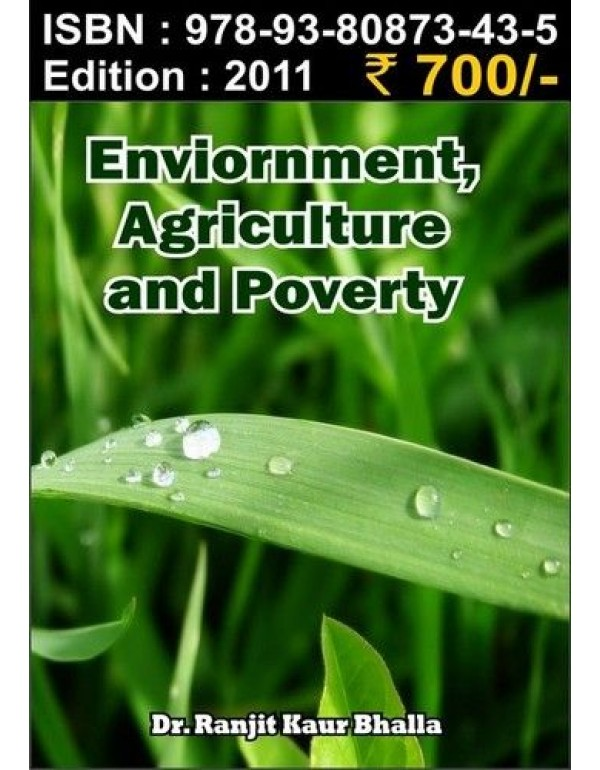 Environment Agriculture and poverty